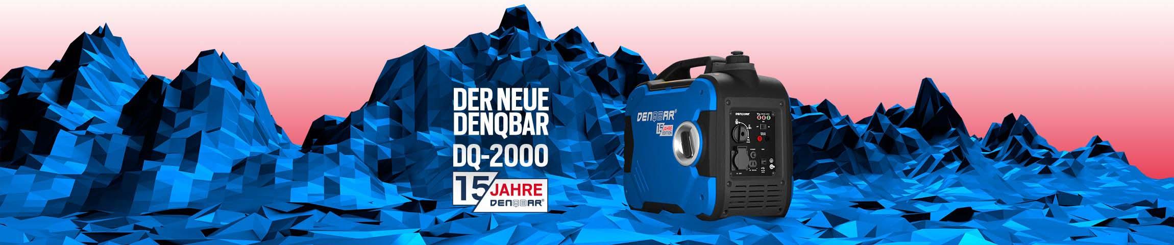 Der neue DENQbAR DQ-2000 Stromerzeuger