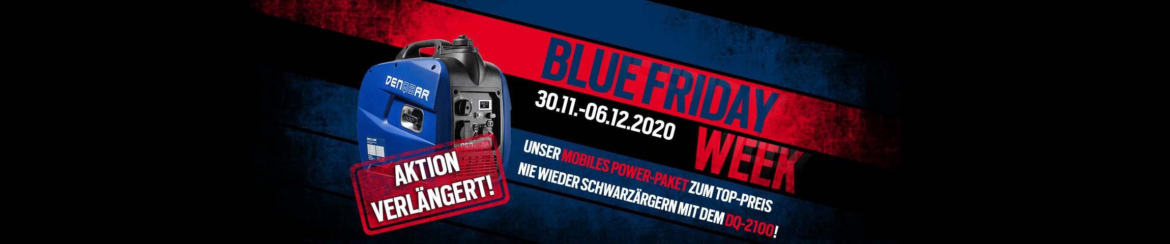 Nie wieder ärgern mit dem DQ-2100 - Wir verlängern die Blue Friday Week!