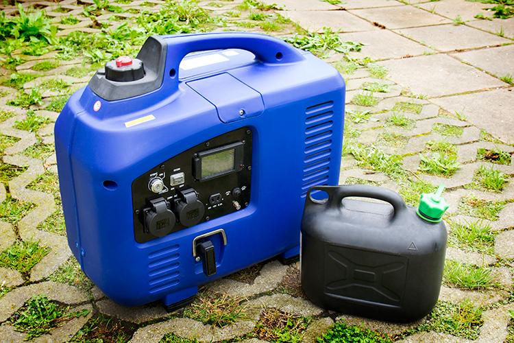 Notstromaggregat wie lange läuft es mit einer Tankfüllung