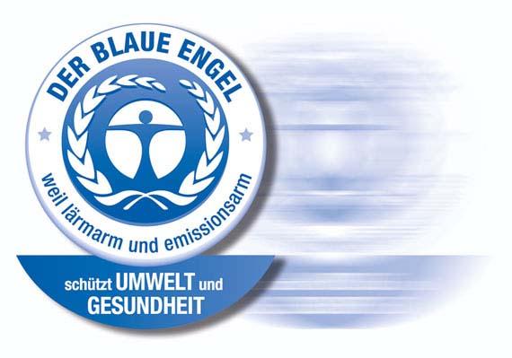 Der Blaue Engel - das Symbol für leise Stromerzeuger