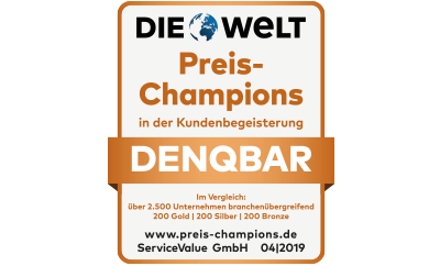 DENQBAR DIE WELT Preis-Champions 2019