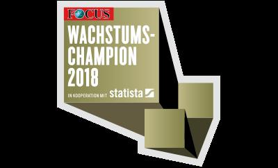 DENQBAR Focus Wachstumchampion 2018