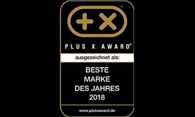 Plus X Award - Beste Marke des Jahres