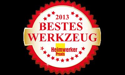 Bestes Werkzeug 2013 - gewählt von den Lesern der HWP