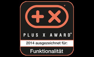 Plus X Award Funktionalität