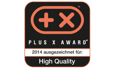 Plus X Award High Quality