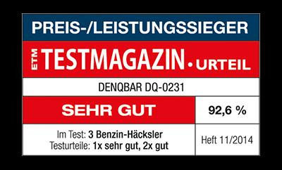 Preis-/Leistungssieger beim ETM Testmagazin Test