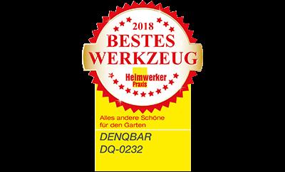 Heimwerker Praxis Leser wählen DENQBAR Gartenhäcksler als Bestes Werkzeug 2018