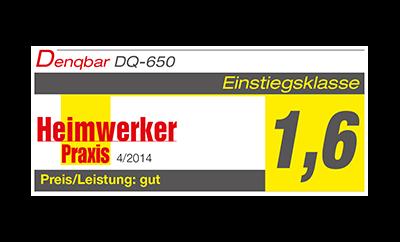 Heimwerker Praxis Testnote 1,6