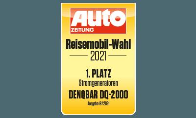 """DQ-2000 - 1. Platz bei der AUTO ZEITUNG Reisemobil-Wahl 2021"""""""