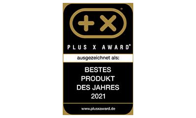 "Plus X Award ""Bestes Produkt des Jahres 2021"" DQ-2100"