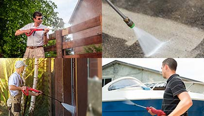 DENQBAR high pressure washer - Areas of use