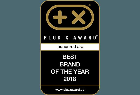 Plus X Award - DENQBAR Meilleure marque de l'année 2018