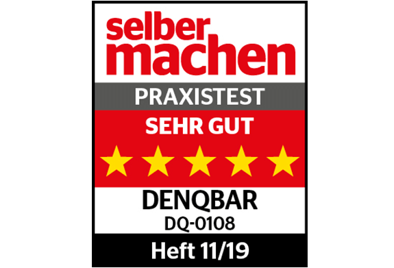 DENQBAR high pressure washer - Do it yourself! (11/2019), Test rating: 5 of 5 stars