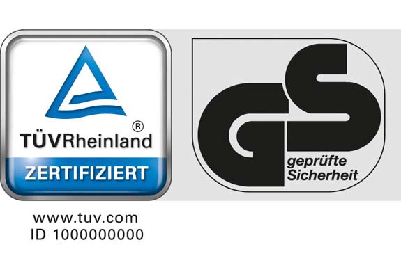 TÜV Rheinland GS Logo