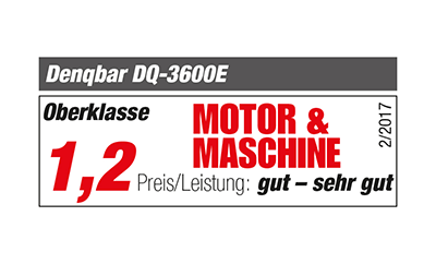 Motor & Maschine: Awards for the DQ-3600E