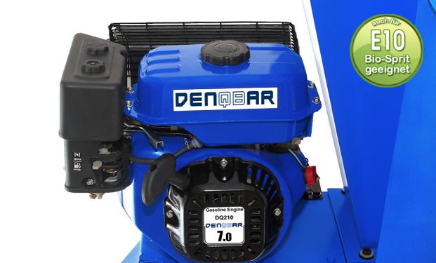 Broyeur de végétaux DENQBAR avec moteur nouvelle génération
