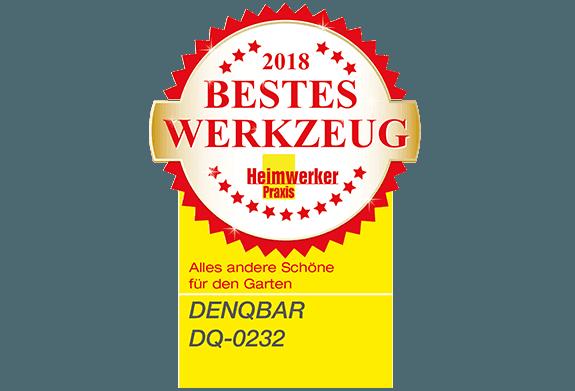 Heimwerker Praxis Leser wählen DENQBAR Gartenhäcksler zum Besten Werkzeug 2018