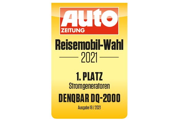DQ-2000 - 1. Platz bei der AUTO ZEITUNG Reisemobil-Wahl 2021