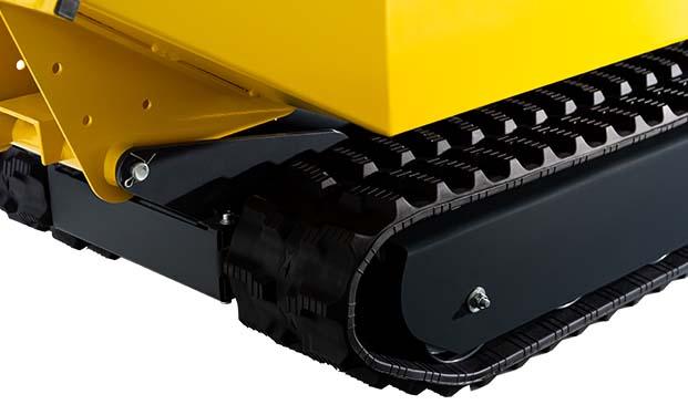 DENQBAR Mini Dumper mit praktischem Raupenantrieb