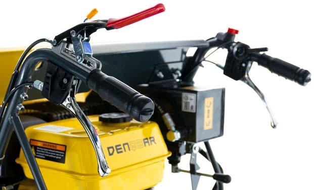 DENQBAR Mini Dumper mit ergonimischen Lenkergriffen