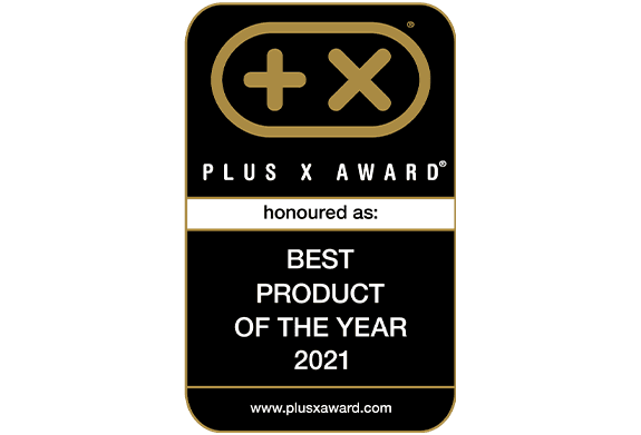 Plus X Award - Best Product of the Year 2021