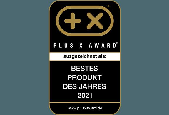 "Plus X Award ""Bestes Produkt des Jahres"""