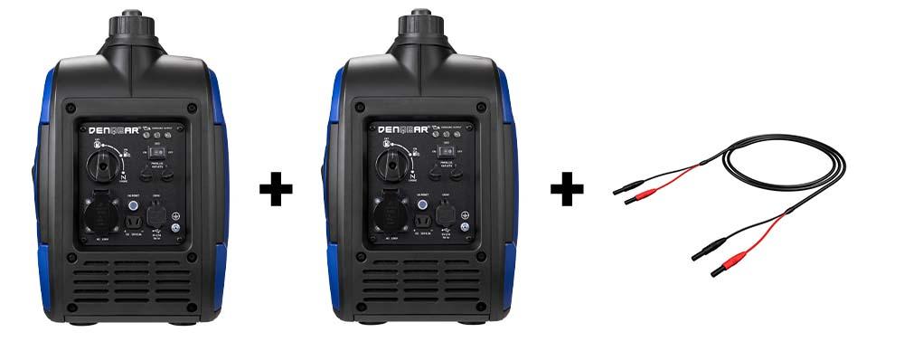 DENQBAR power generator - DQ-2000 Bundle