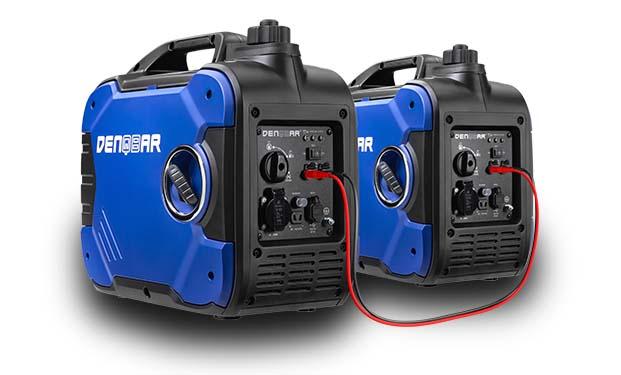 DENQBAR power generator with parallel connector