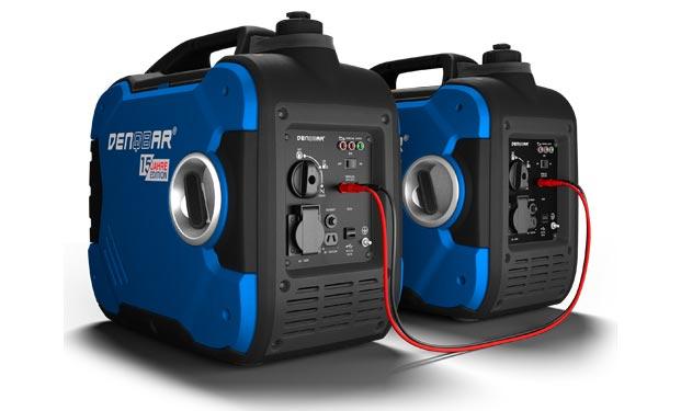 Denqbar Stromerzeuger mit Display