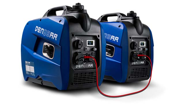 DENQBAR DQ-2100 Inverter Power Generator - Even more power with the parallel connection