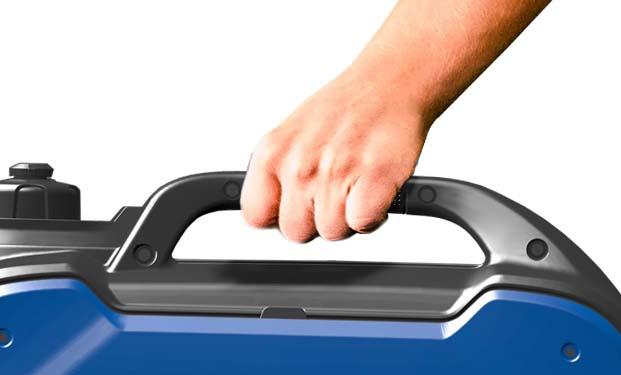 Tragbar durch reduziertes Gewicht