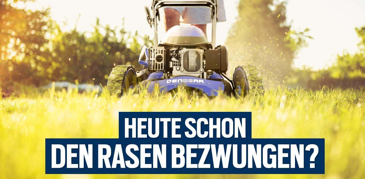 Rasenmäher - Heute schon den Rasen bezwungen?