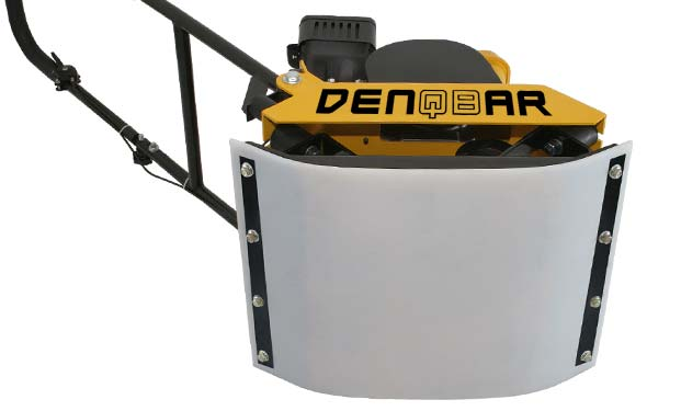 DENQBAR professional plate compactor with polyurethane pad for paving