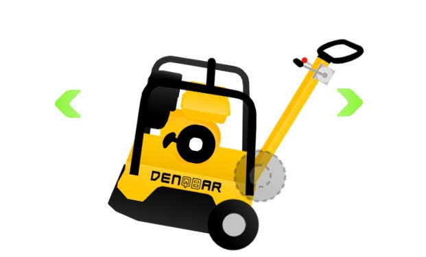 DENQBAR professional plate compactor easy to transport