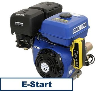 universal gasoline engine 390 ccm 9.6 kW (13 HP) 25 mm with E-START