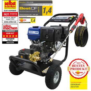 250 bar high pressure washer with 9,6 kW (13 PS) engine