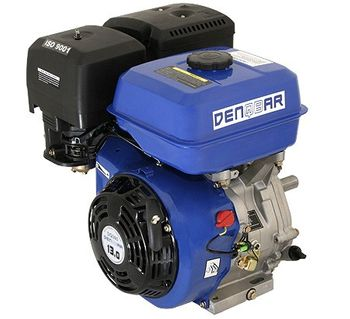 universal gasoline engine 390 ccm 9.6 kW (13 HP) 25 mm