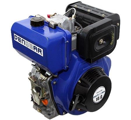 universal diesel engine 418 ccm 7.4 kW (10 HP) 25,4 mm (1 INCH)