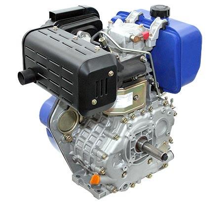 Universal Dieselmotor mit 7,4  kW (10 PS) 418 ccm 25,4 mm (1-Zoll) Welle Q-Typ