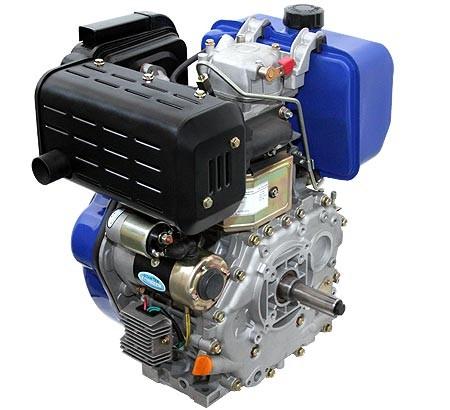 Universal Dieselmotor mit 7,4  kW (10 PS) 418 ccm 25,4 mm (1-Zoll) Welle Q-Typ mit E-Start