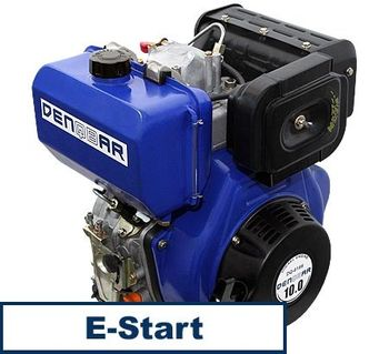 universal diesel engine 418 ccm 7.4 kW (10 HP) 25,4 mm (1 INCH) with E-START