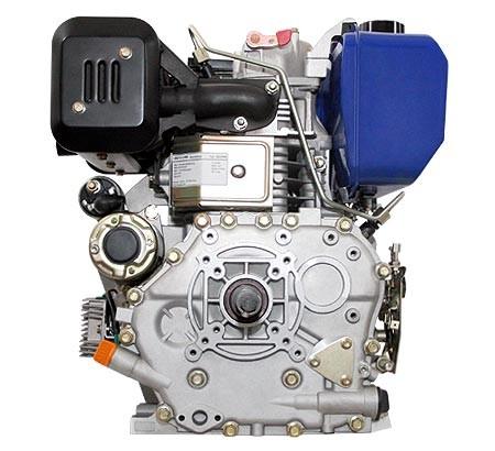 Universal Dieselmotor mit 7,4  kW (10 PS) 418 ccm 25 mm S-Typ mit E-Start