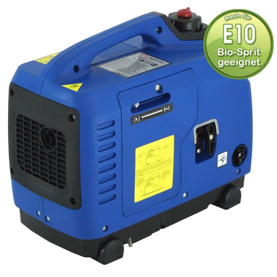 1.2 kW silent suitcase digital generator 230 V inverter