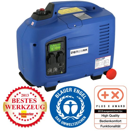2.8 kW silent suitcase digital generator 230 V inverter