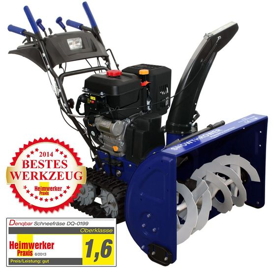Professional snow blower with 11 kW (15 HP) gasoline engine