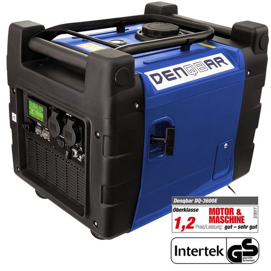 E-START 3.6 kW silent suitcase digital generator 230 V inverter