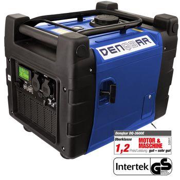 E-START 3,6 kW Digitaler Inverter Stromerzeuger, Generator benzinbetrieben