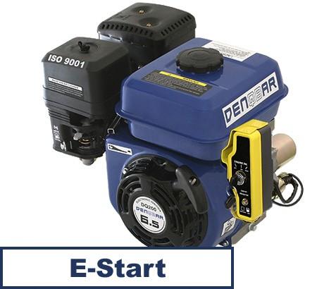 motor gasolina universal 4,8 kW (6,5 CV) eje de 19,05 mm con E-Start