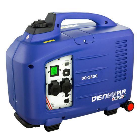 eBLUE® 3,3 kW Digitaler Inverter Stromerzeuger, Generator benzinbetrieben